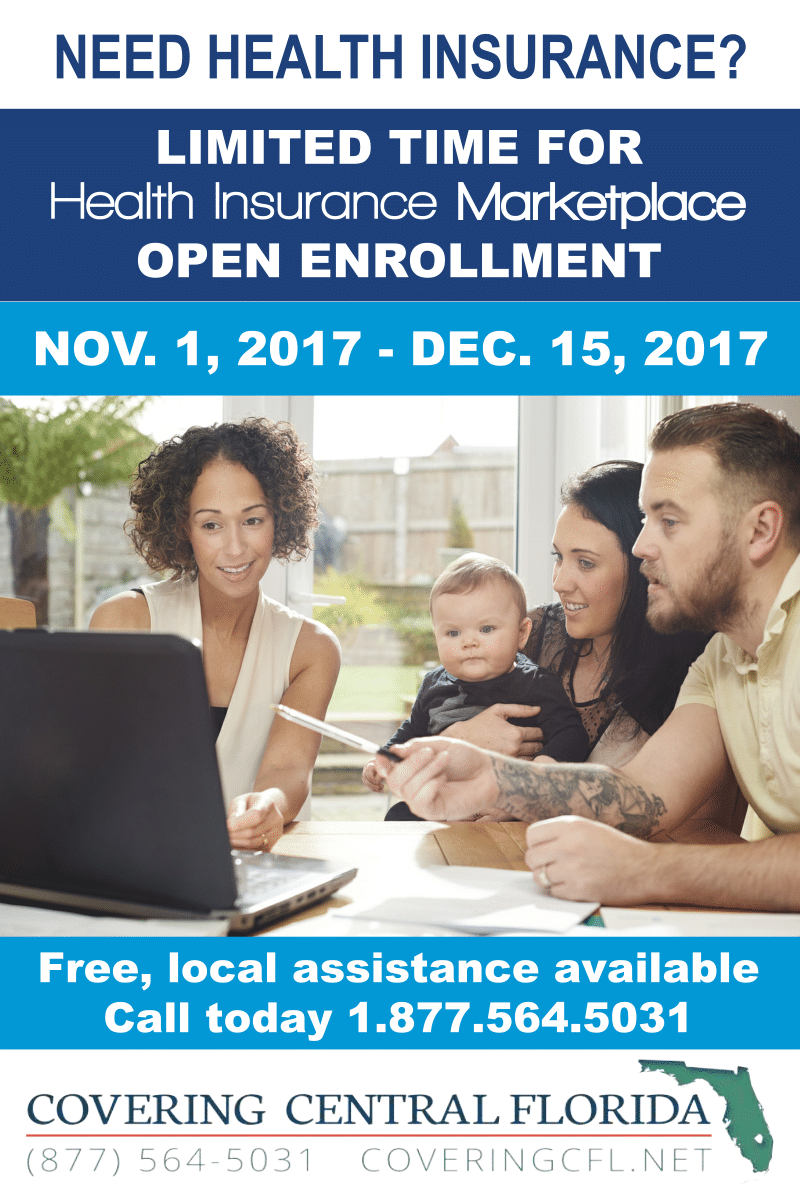 English Open Enrollment 2018 Family postcard